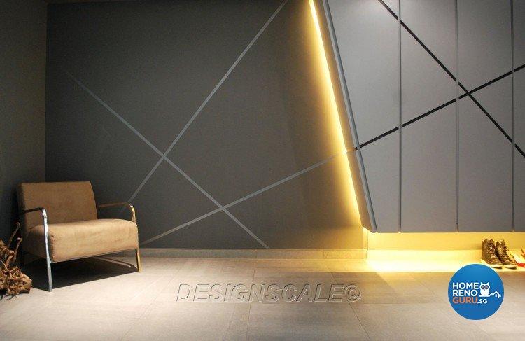 Contemporary, Modern Design - Balcony - Condominium - Design by Designscale Pte Ltd