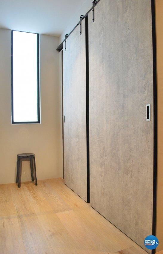 Contemporary, Modern Design - Bedroom - Condominium - Design by Designscale Pte Ltd
