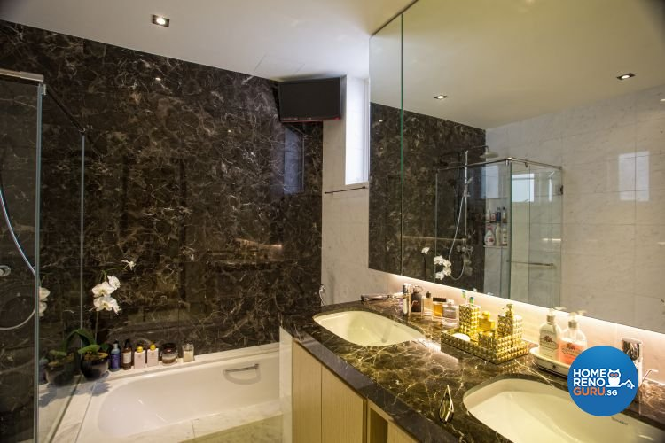 Classical, Contemporary, Modern Design - Bathroom - Landed House - Design by Designscale Pte Ltd