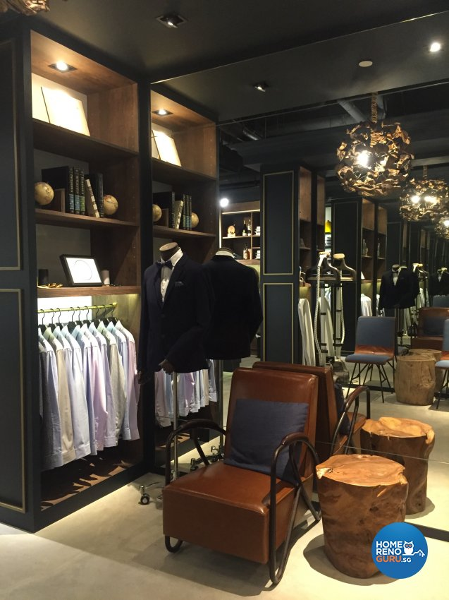 Classical, Industrial, Scandinavian Design - Commercial - Retail - Design by Designscale Pte Ltd