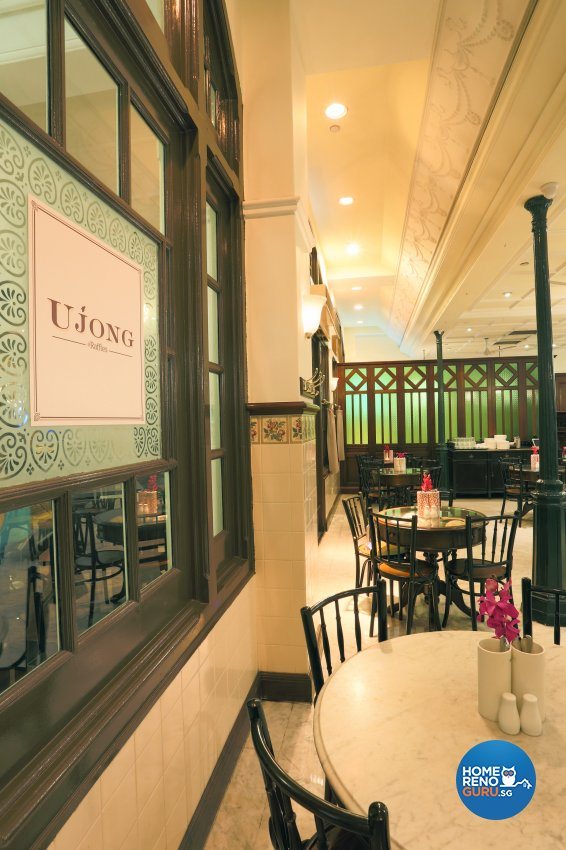 Classical, Vintage Design - Commercial - F&B - Design by Designscale Pte Ltd