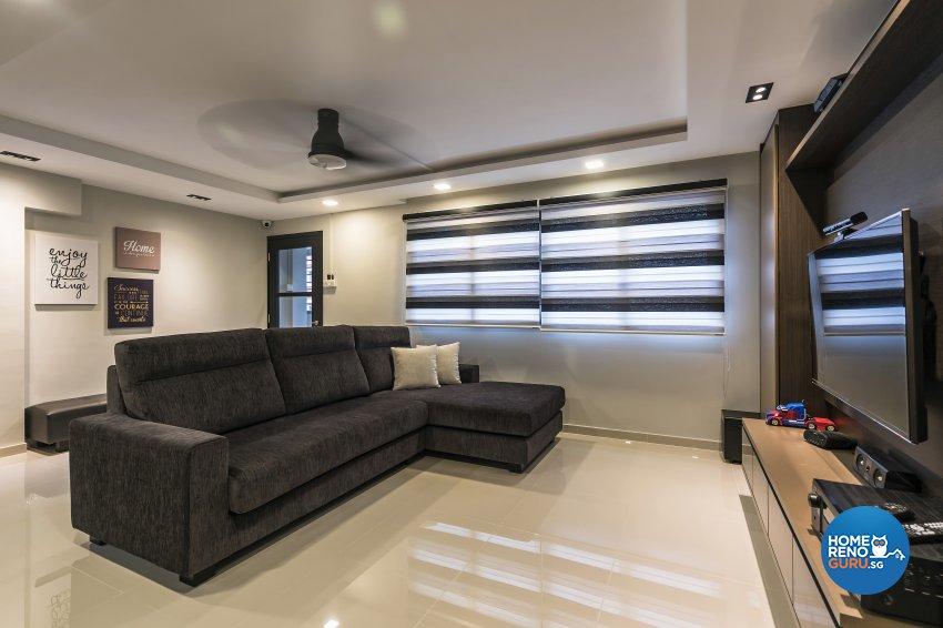 Contemporary Design - Living Room - Others - Design by D'esprit Interiors Pte Ltd