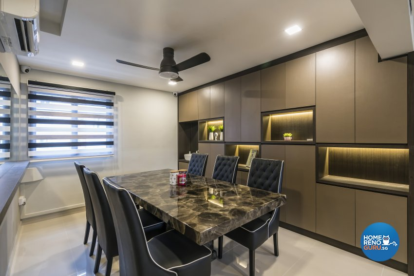 Contemporary Design - Dining Room - Others - Design by D'esprit Interiors Pte Ltd