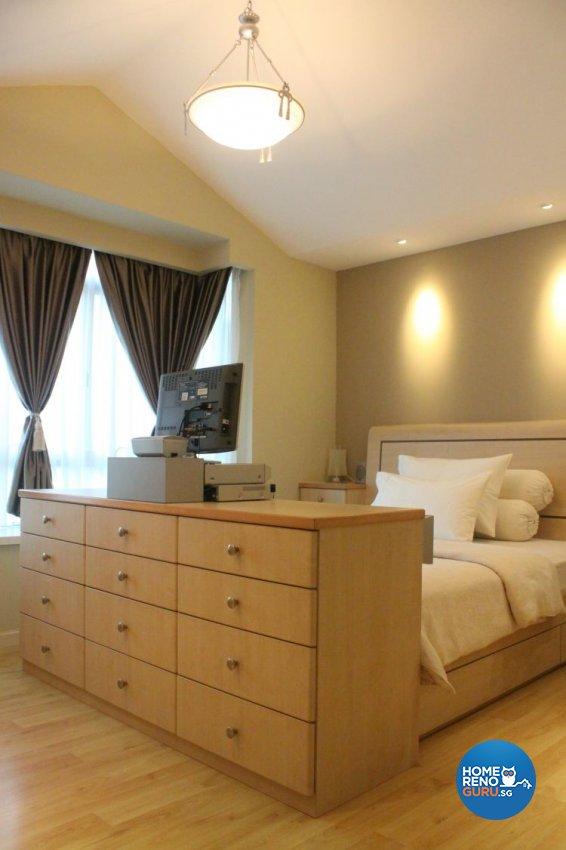 Contemporary, Modern Design - Bedroom - Condominium - Design by D'esprit Interiors Pte Ltd