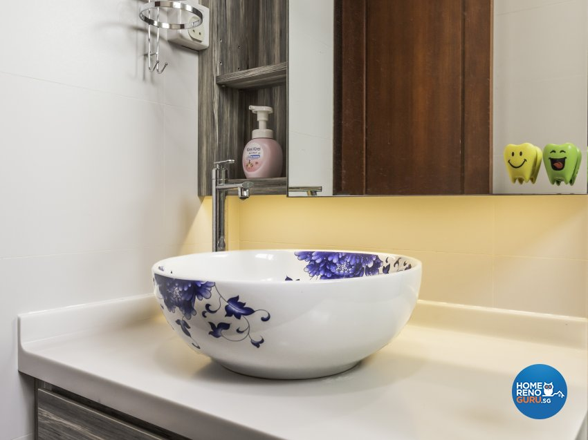 Modern Design - Bathroom - Condominium - Design by D'esprit Interiors Pte Ltd