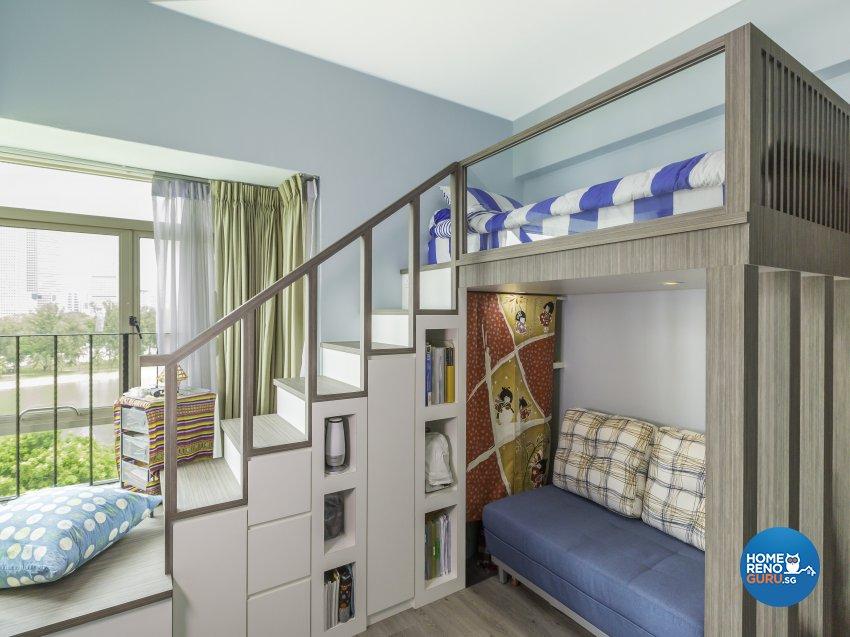 Modern Design - Bedroom - Condominium - Design by D'esprit Interiors Pte Ltd