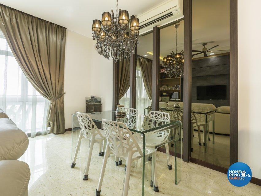 Modern Design - Dining Room - Condominium - Design by D'esprit Interiors Pte Ltd