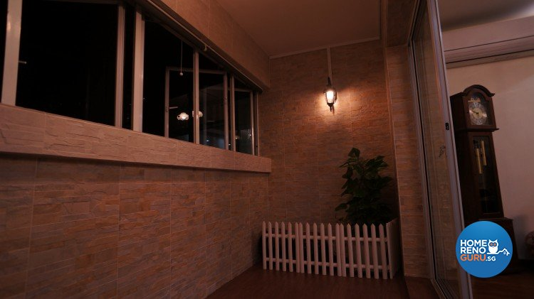Contemporary, Country, Modern Design - Balcony - HDB 5 Room - Design by D'esprit Interiors Pte Ltd