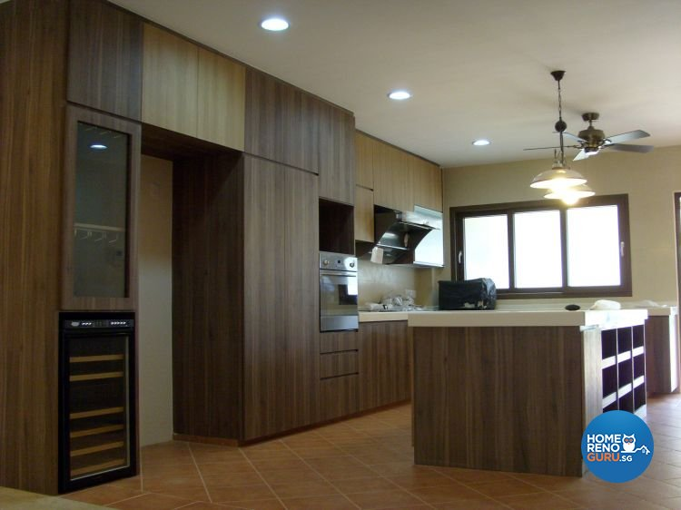 Contemporary Design - Kitchen - Landed House - Design by Dezign Culture