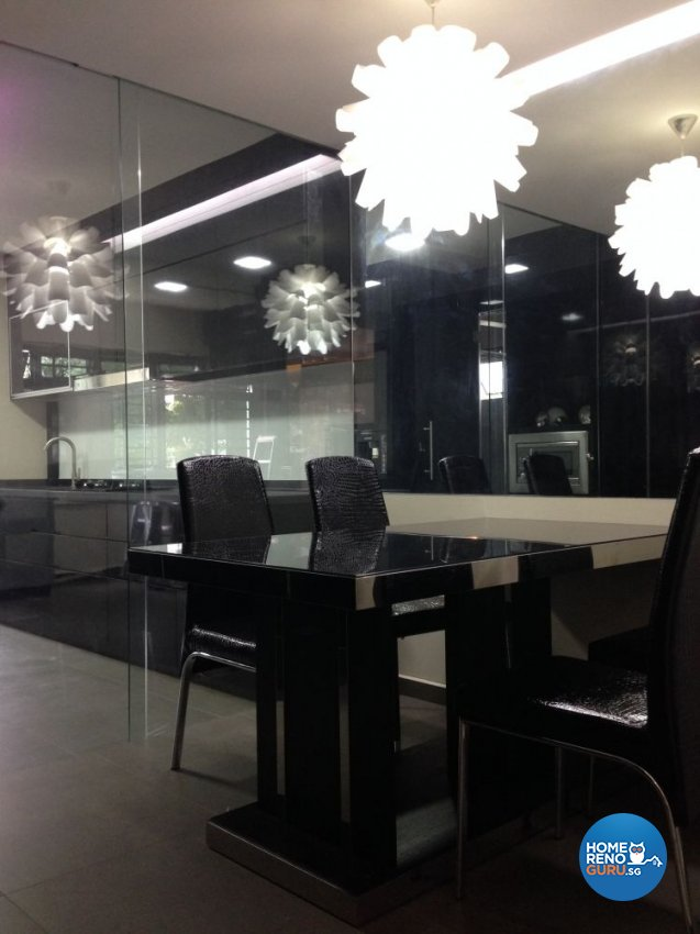 Modern Design - Dining Room - HDB 5 Room - Design by Dezign Culture