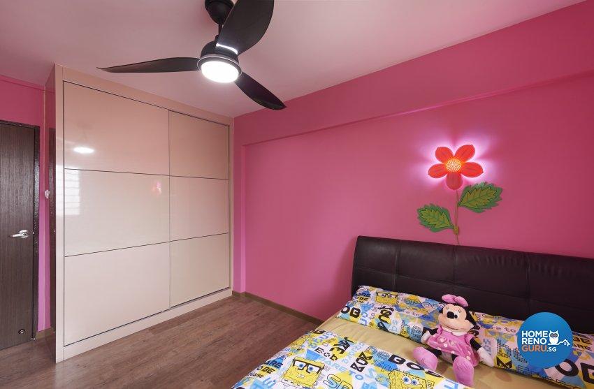 Industrial, Rustic Design - Bedroom - HDB 4 Room - Design by Dezign Culture