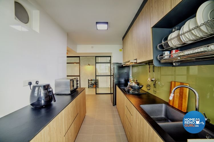 Scandinavian Design - Kitchen - HDB 5 Room - Design by Dezign Culture