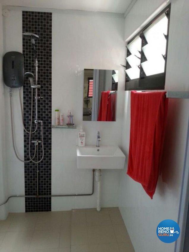 Contemporary Design - Bathroom - HDB 4 Room - Design by Dezign Culture