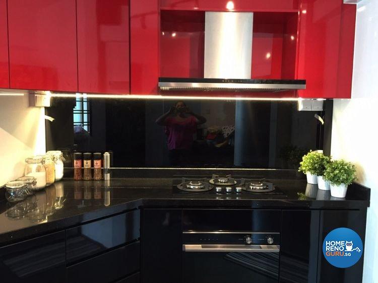 Modern Design - Kitchen - HDB 5 Room - Design by Dezign Culture