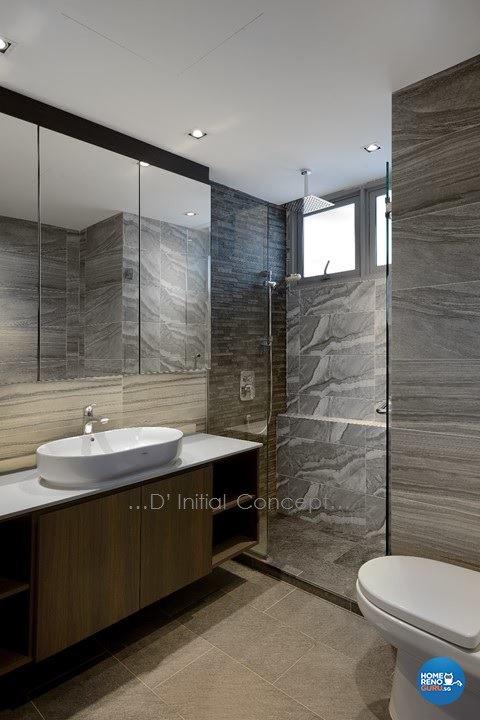 Contemporary, Modern Design - Bathroom - Condominium - Design by D Initial Concept