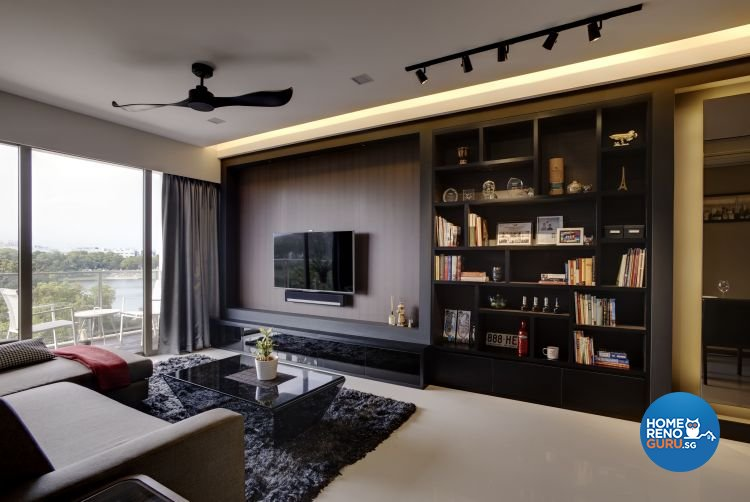 Modern Design - Living Room - Condominium - Design by D Initial Concept