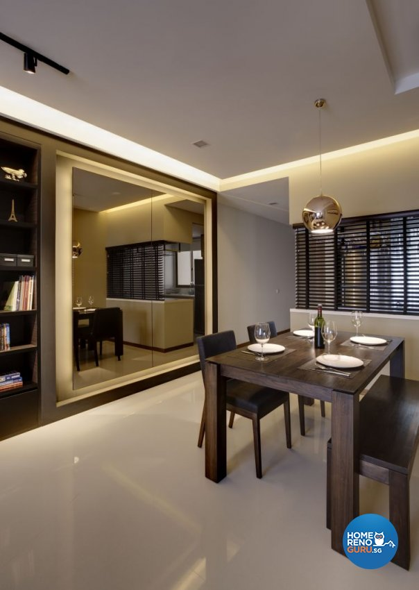 Modern Design - Dining Room - Condominium - Design by D Initial Concept