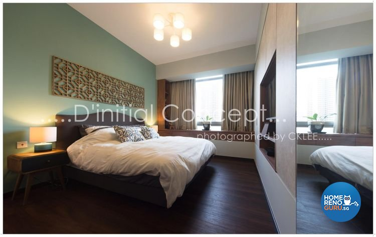 Eclectic Design - Bedroom - Condominium - Design by D Initial Concept