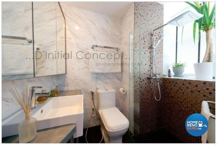 Eclectic Design - Bathroom - Condominium - Design by D Initial Concept