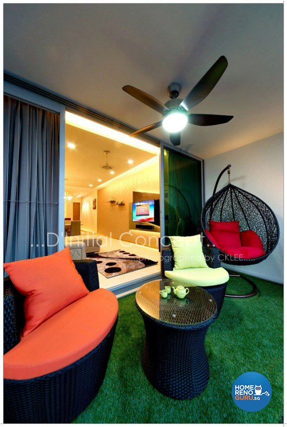 Contemporary, Modern Design - Balcony - Condominium - Design by D Initial Concept