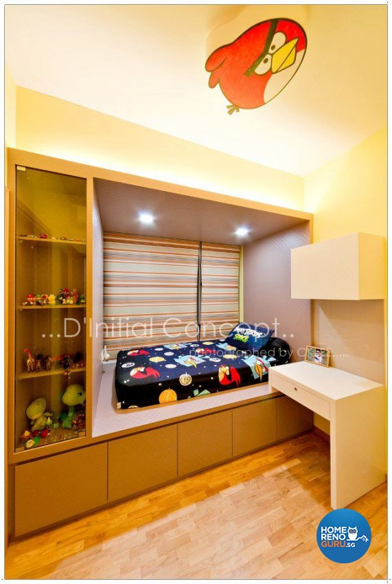 Contemporary, Modern Design - Bedroom - Condominium - Design by D Initial Concept