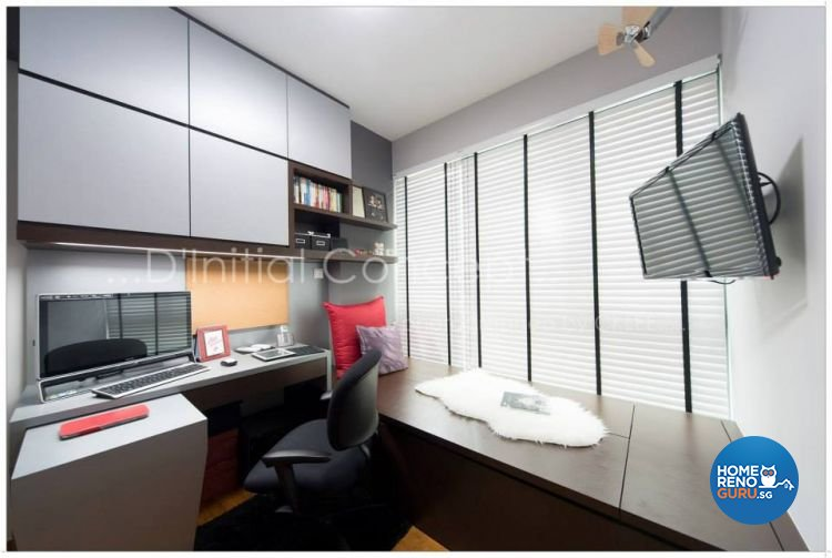 Contemporary Design - Study Room - Condominium - Design by D Initial Concept