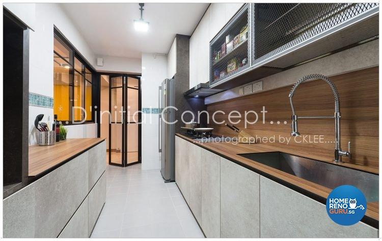 Scandinavian Design - Kitchen - HDB 4 Room - Design by D Initial Concept
