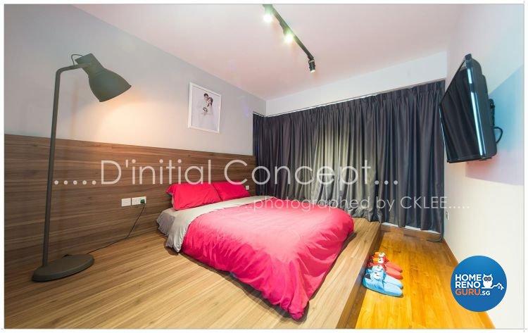 Scandinavian Design - Bedroom - HDB 4 Room - Design by D Initial Concept