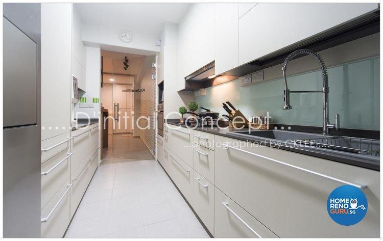 Scandinavian Design - Kitchen - HDB 5 Room - Design by D Initial Concept