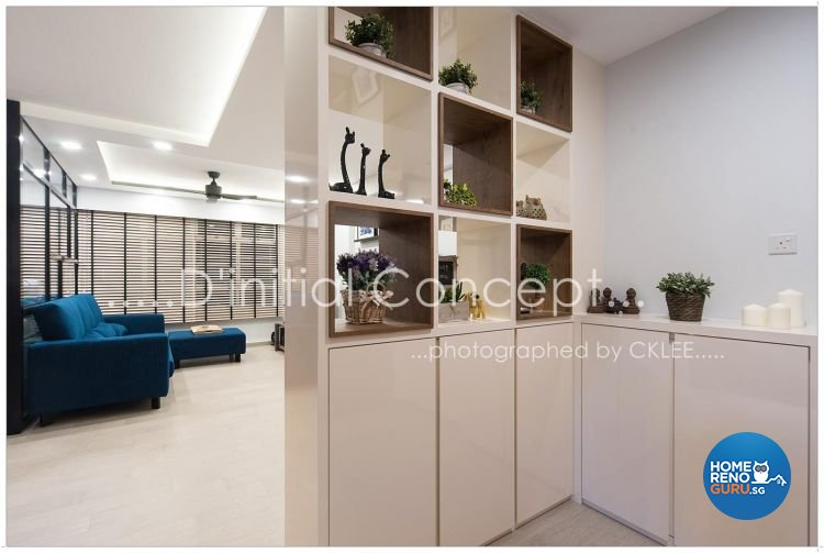 Scandinavian Design - Living Room - HDB 5 Room - Design by D Initial Concept