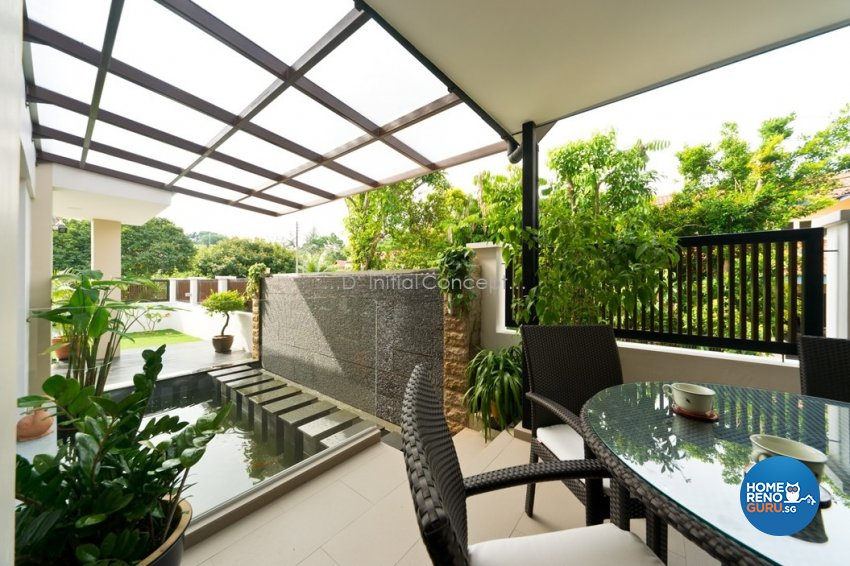 Contemporary, Minimalist Design - Garden - Landed House - Design by D Initial Concept