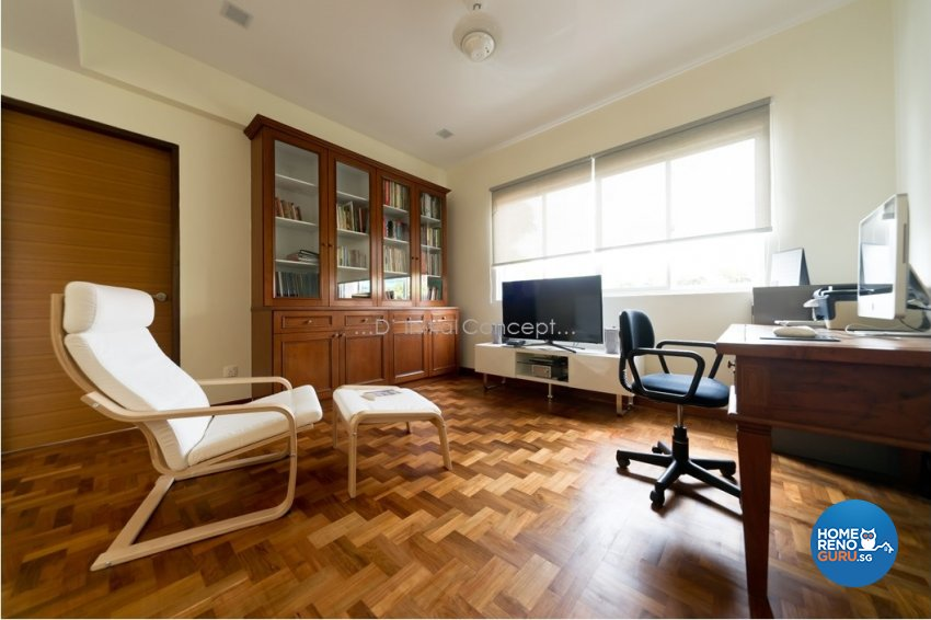 Contemporary, Minimalist Design - Study Room - Landed House - Design by D Initial Concept