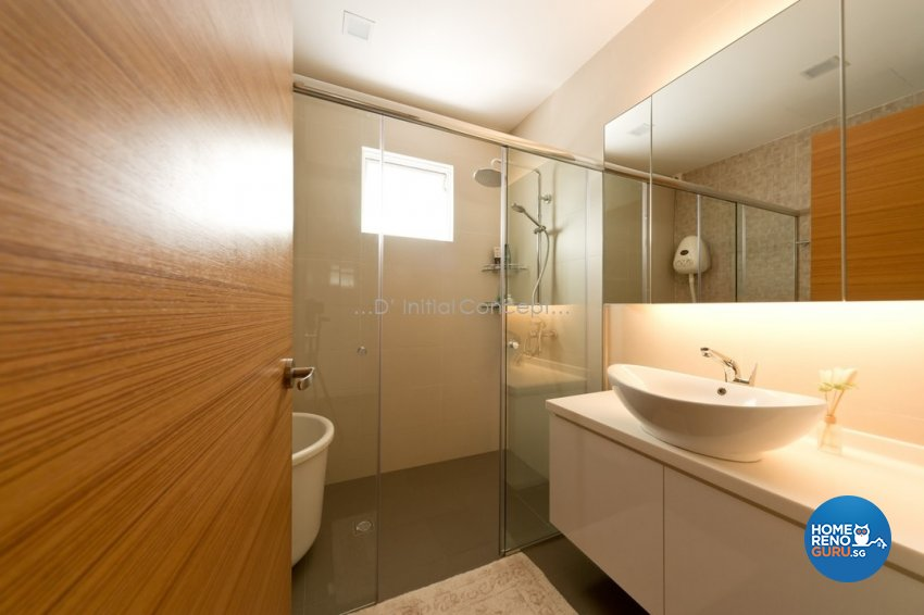 Contemporary, Minimalist Design - Bathroom - Landed House - Design by D Initial Concept