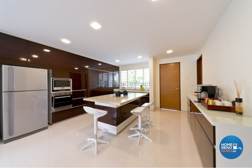 Contemporary, Minimalist Design - Kitchen - Landed House - Design by D Initial Concept