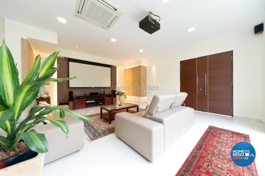 Contemporary, Minimalist Design - Living Room - Landed House - Design by D Initial Concept