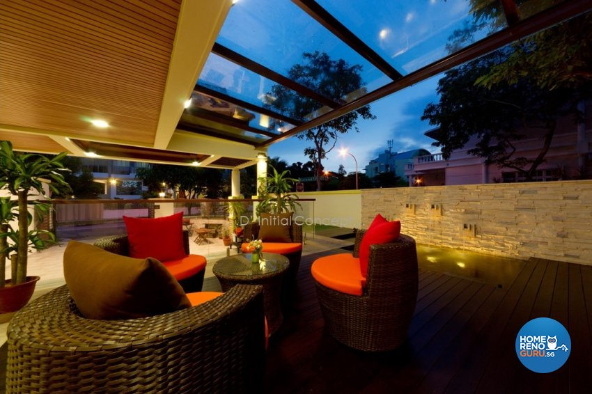 Eclectic, Modern Design - Garden - Landed House - Design by D Initial Concept