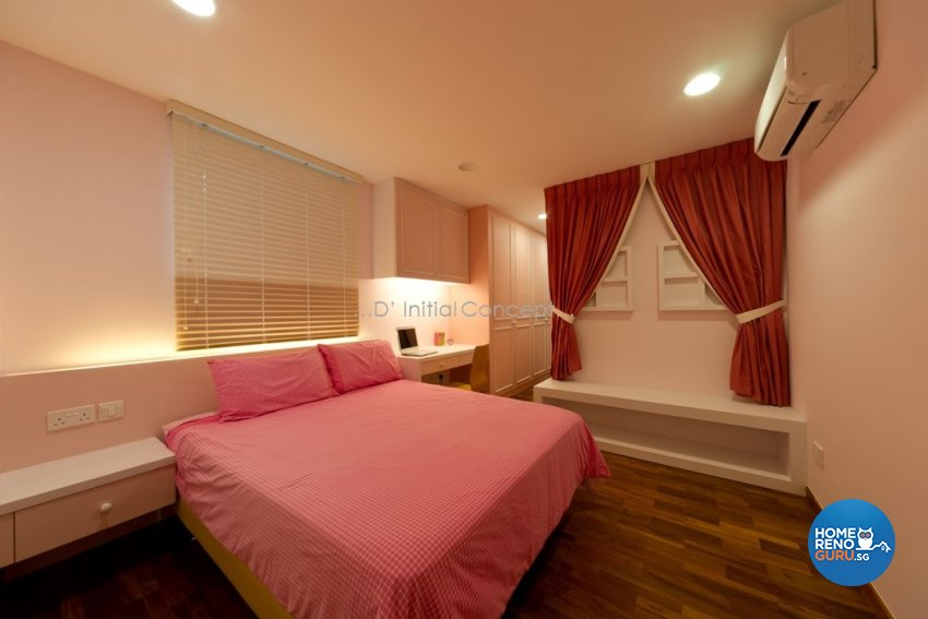 Eclectic, Modern Design - Bedroom - Landed House - Design by D Initial Concept