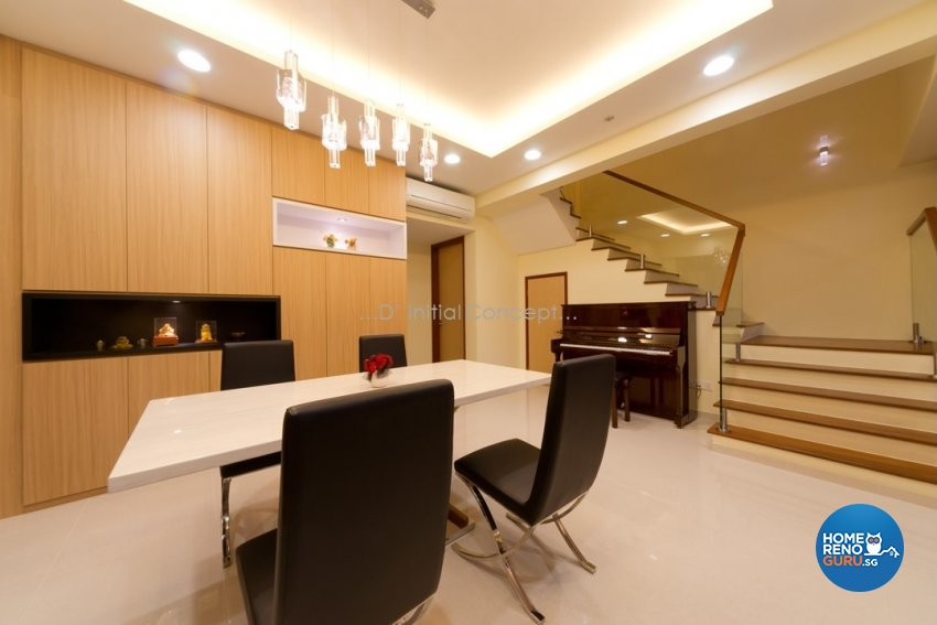 Eclectic, Modern Design - Dining Room - Landed House - Design by D Initial Concept