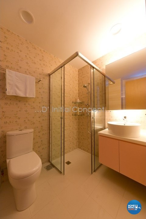 Eclectic, Modern Design - Bathroom - Landed House - Design by D Initial Concept