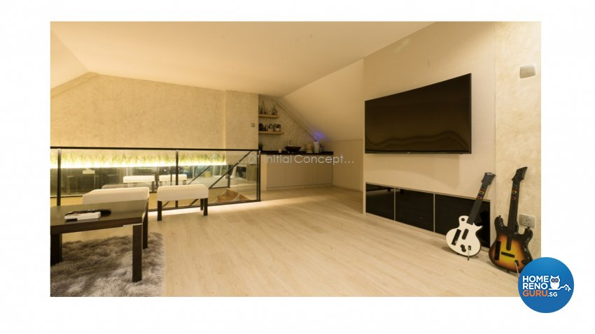 Contemporary, Modern Design - Entertainment Room - Landed House - Design by D Initial Concept