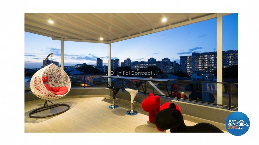 Contemporary, Modern Design - Garden - Landed House - Design by D Initial Concept