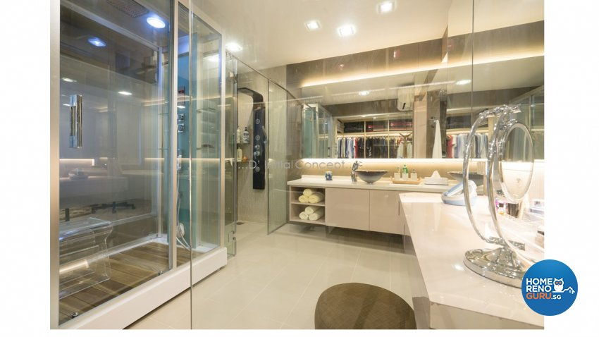 Contemporary, Modern Design - Bathroom - Landed House - Design by D Initial Concept