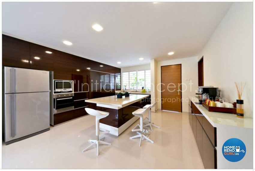 Classical, Contemporary, Tropical Design - Kitchen - Landed House - Design by D Initial Concept