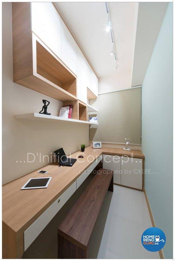 Scandinavian Design - Study Room - Condominium - Design by D Initial Concept
