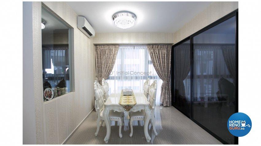 Classical, Contemporary Design - Dining Room - Condominium - Design by D Initial Concept