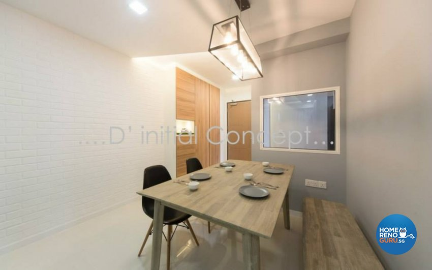 Minimalist, Scandinavian Design - Dining Room - Condominium - Design by D Initial Concept