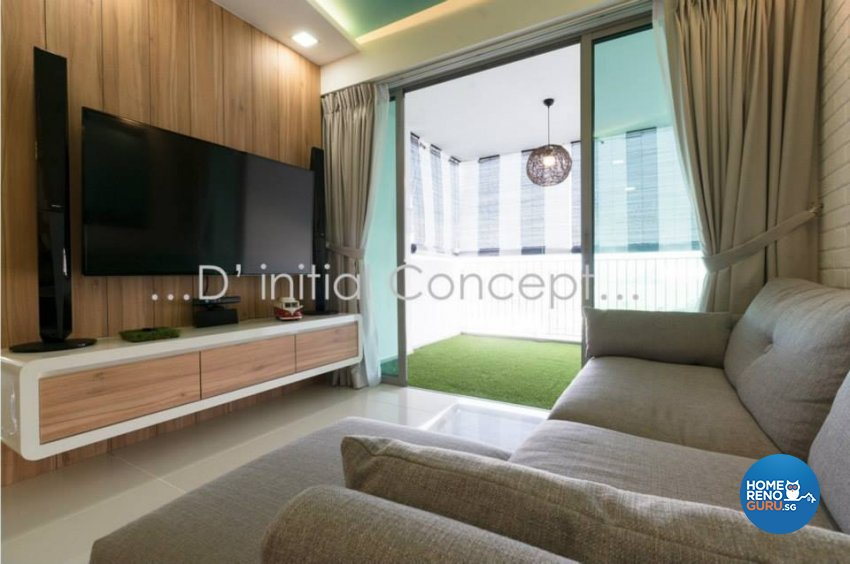 Minimalist, Scandinavian Design - Living Room - Condominium - Design by D Initial Concept
