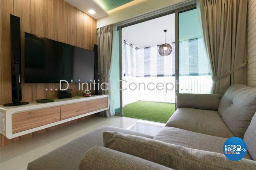 Minimalist, Scandinavian Design - Living Room - Condominium - Design by D Initial Concept