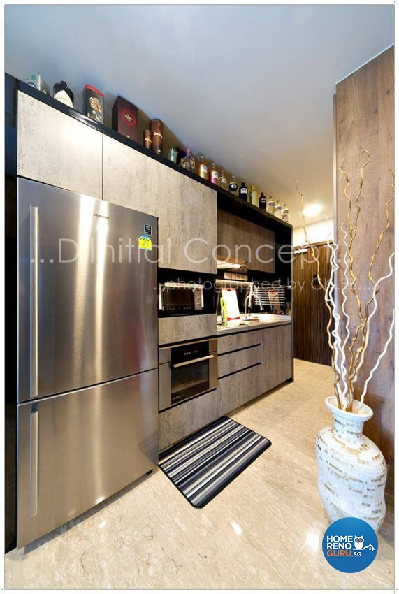 Modern, Rustic Design - Kitchen - Condominium - Design by D Initial Concept