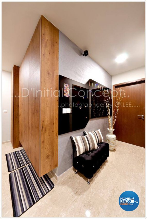 Modern, Rustic Design - Living Room - Condominium - Design by D Initial Concept
